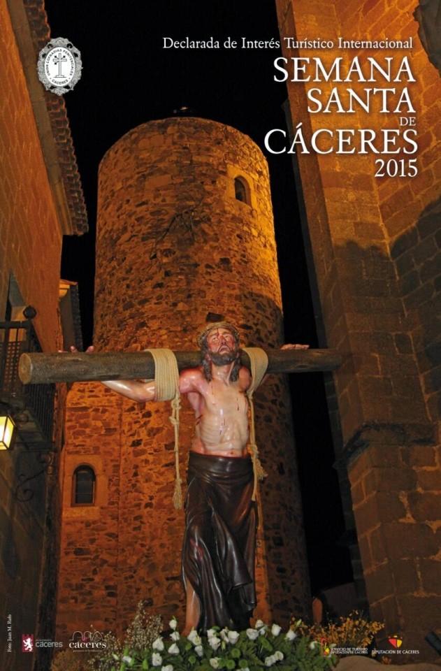 Cartel de la Semana Santa de Cáceres 2015