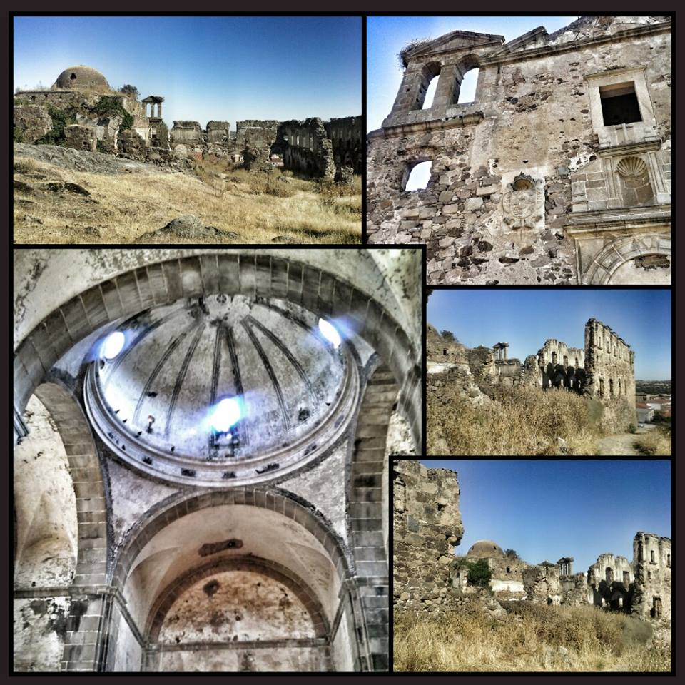 Convento abandonado de la Orden de los Agustinos.