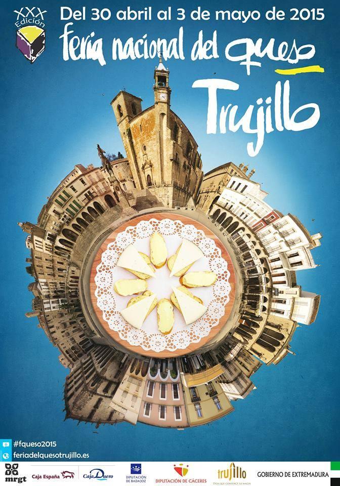 Cartel Feria del Queso de Trujillo 2015