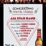 El Conciertazo AMSTEL Cáceres 2015