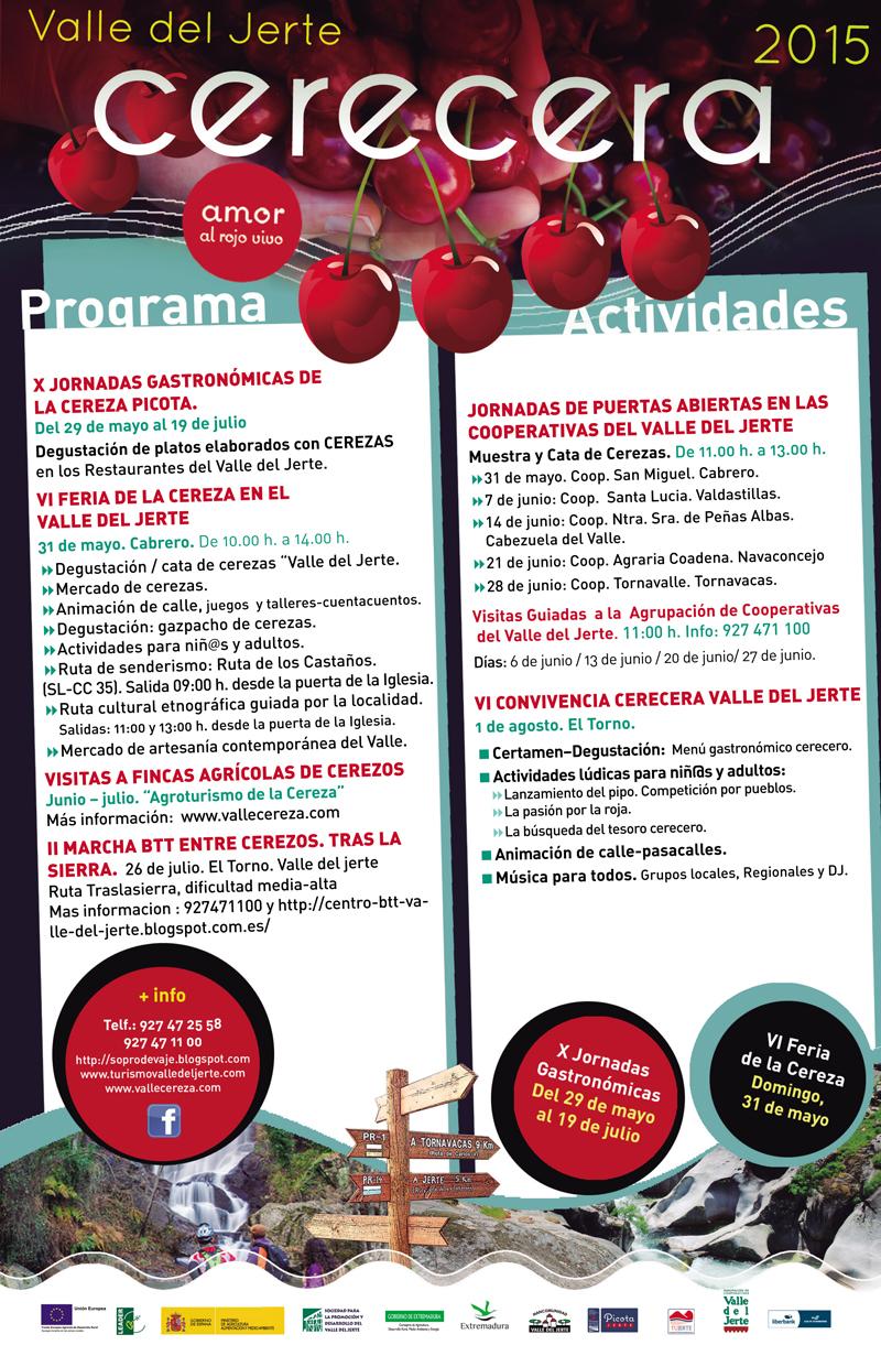 Programa Cerecera 2015 Valle del Jerte