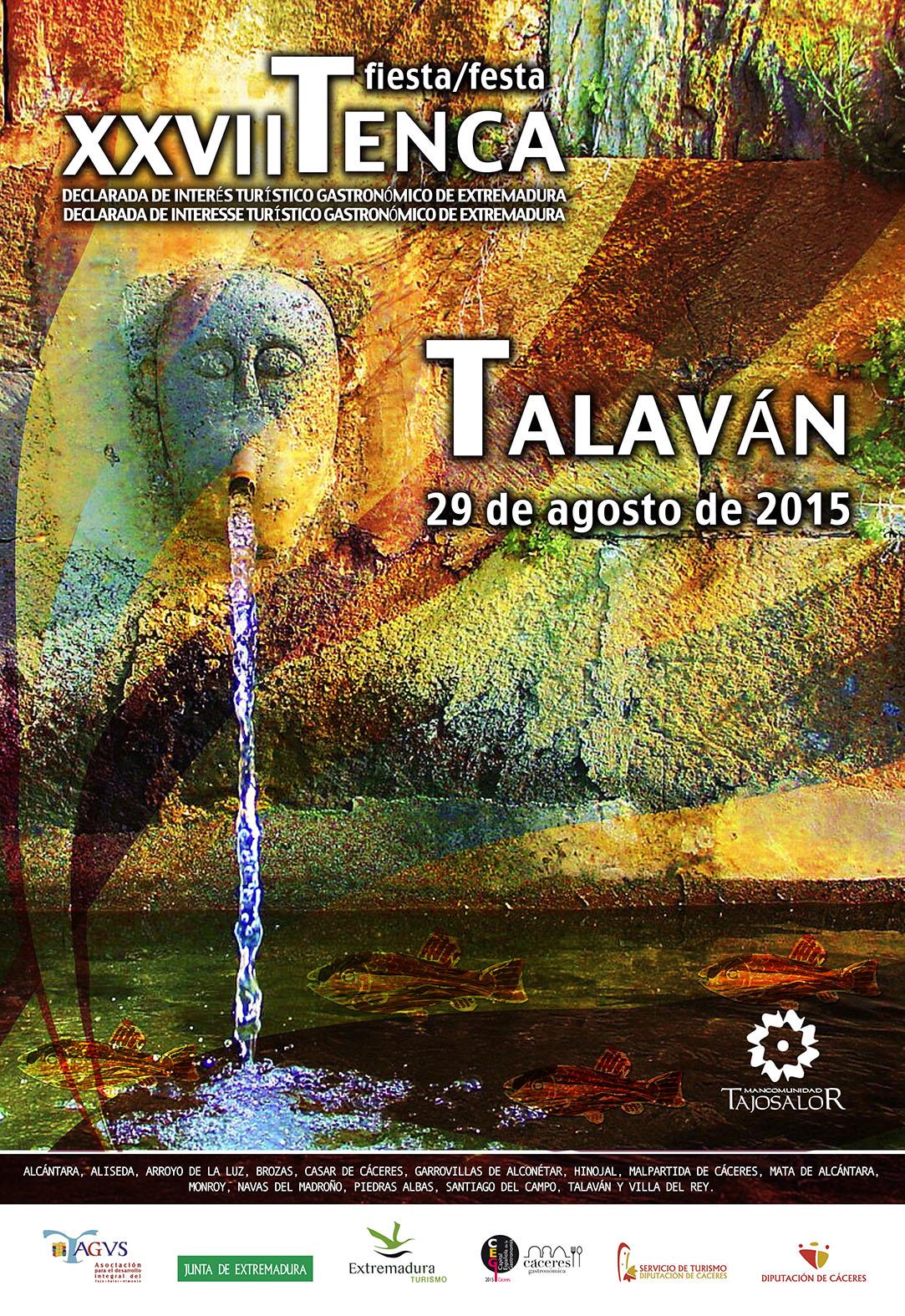 Cartel Fiesta de la Tenca 2015