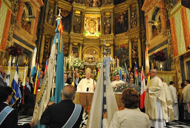 Misa en Honor a la Reina de la Hispanidad