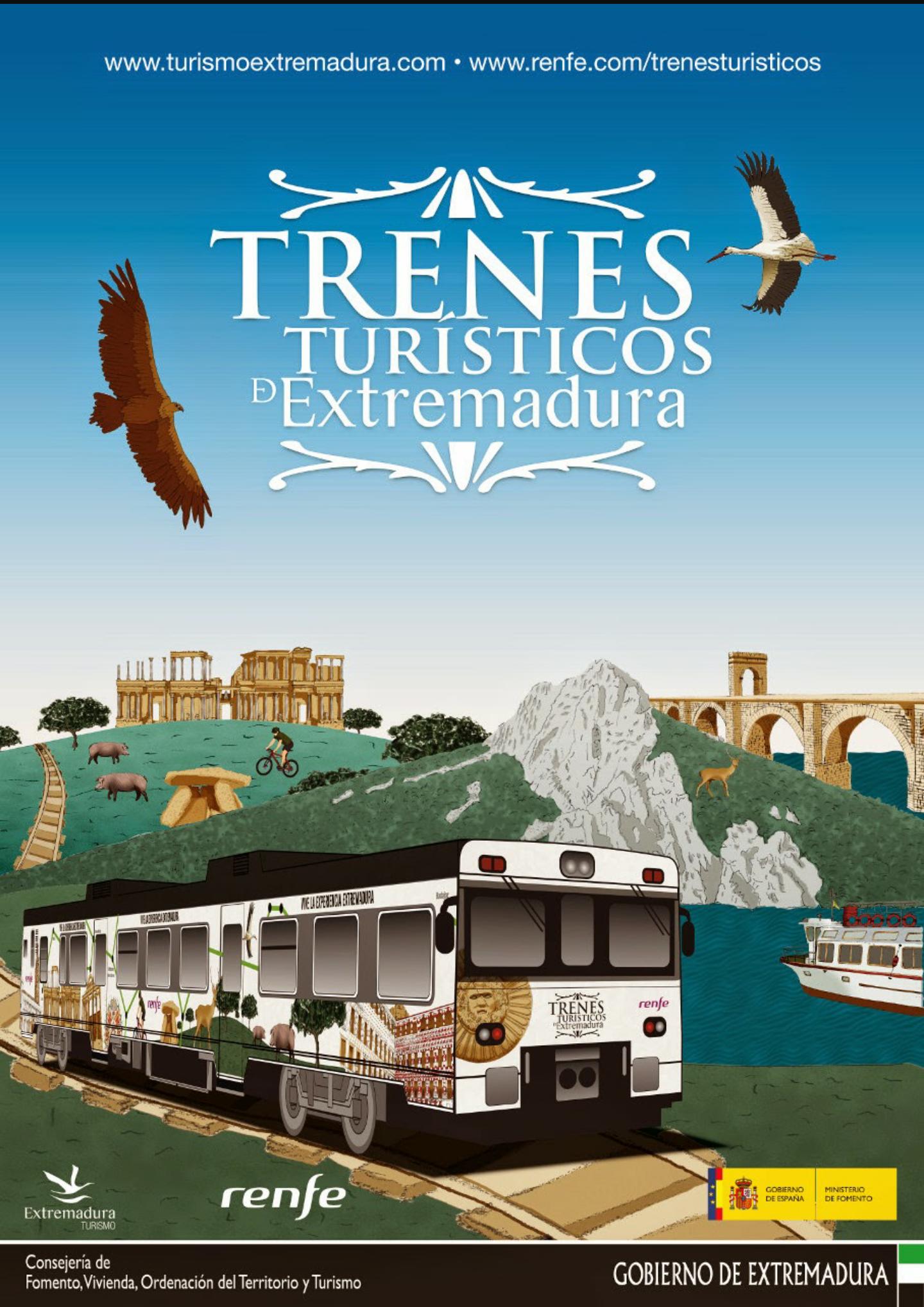 Trenes Turísticos de Extremadura