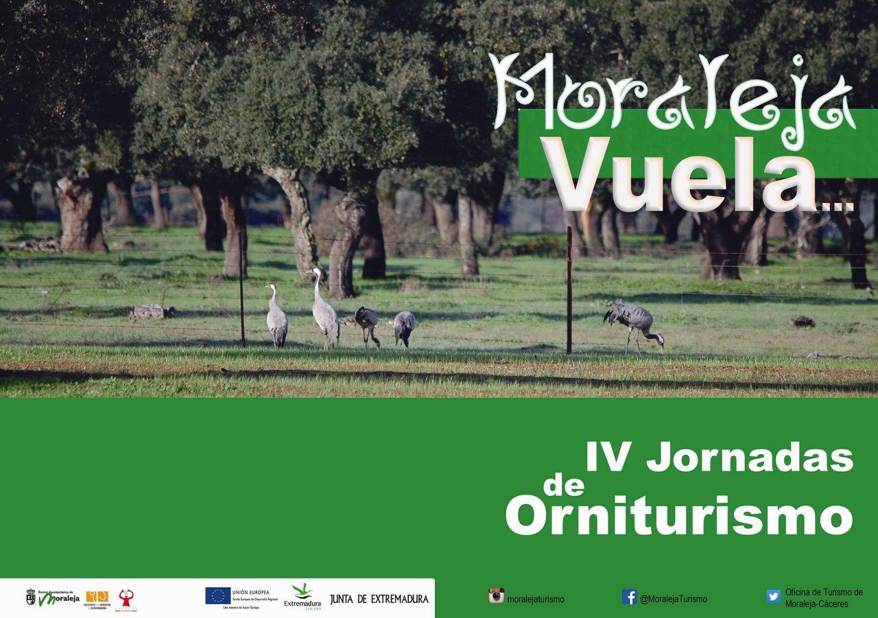 Cartel IV Jornadas de Orniturismo