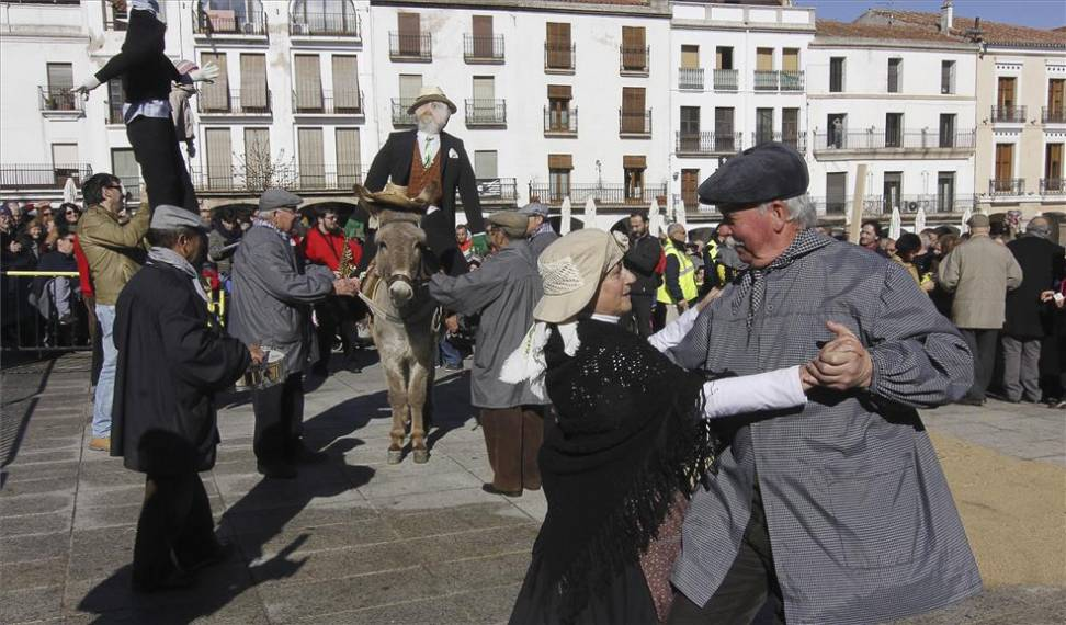 Baile de Mayores - Carnaval Cáceres