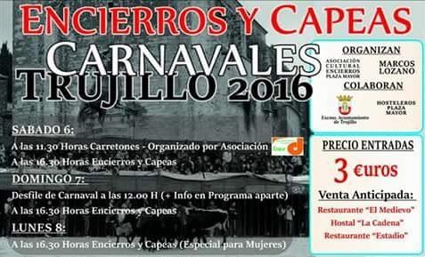 Cartel Capeas Trujillo