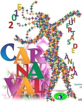 Cartel Carnaval Huertas de Ánimas