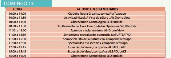 Actividades Familiares FIO 2016 Domingo