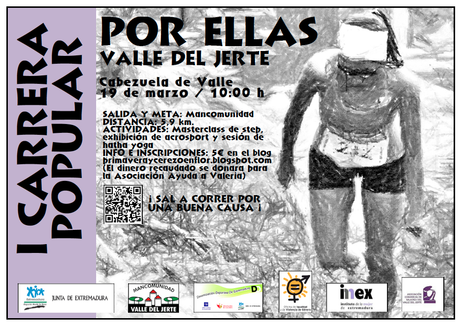 Carrera Cerezo en Flor - Valle del Jerte- Va Por Ellas
