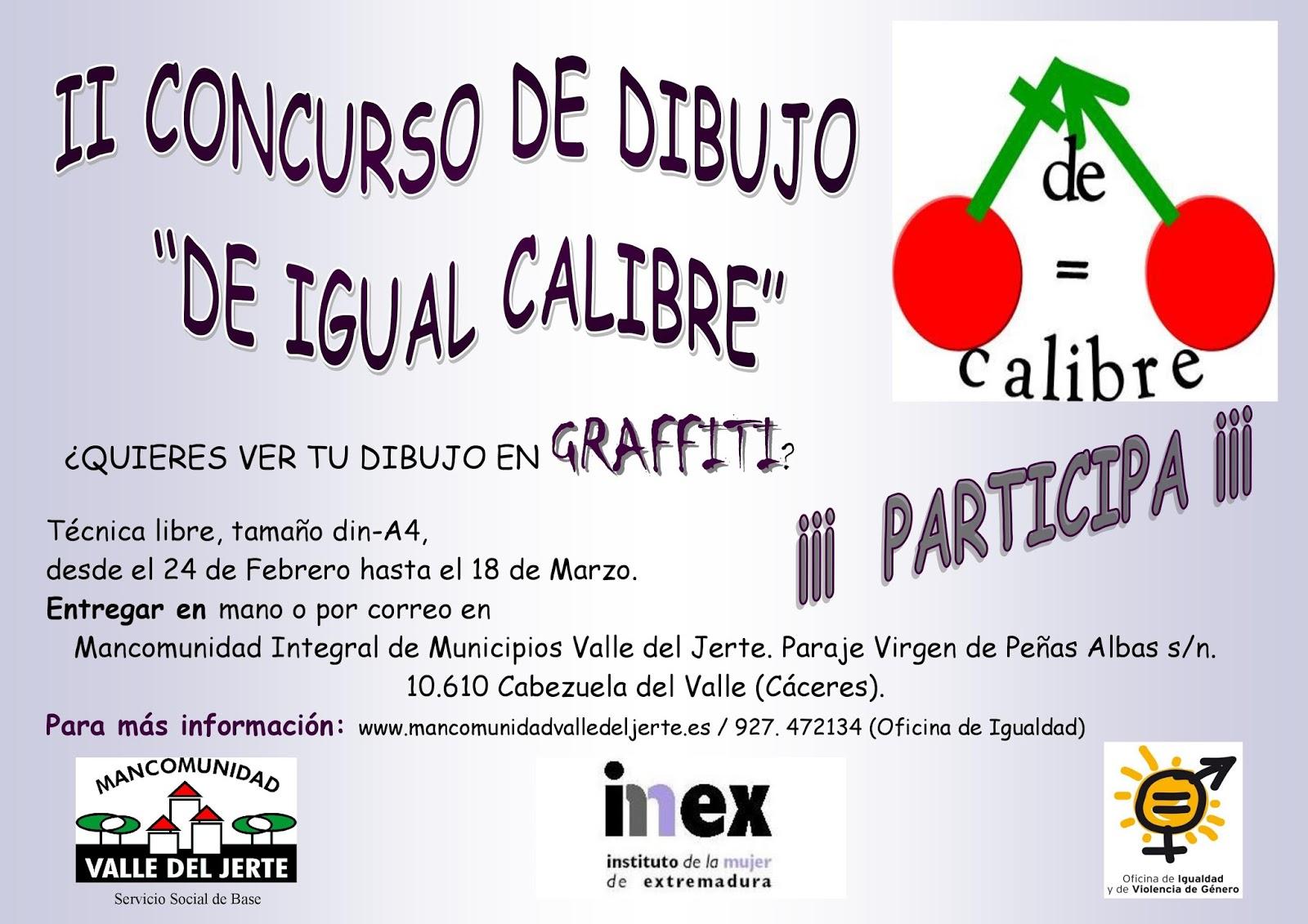 Concurso dibujo igual calibre - Valle del Jerte 2016