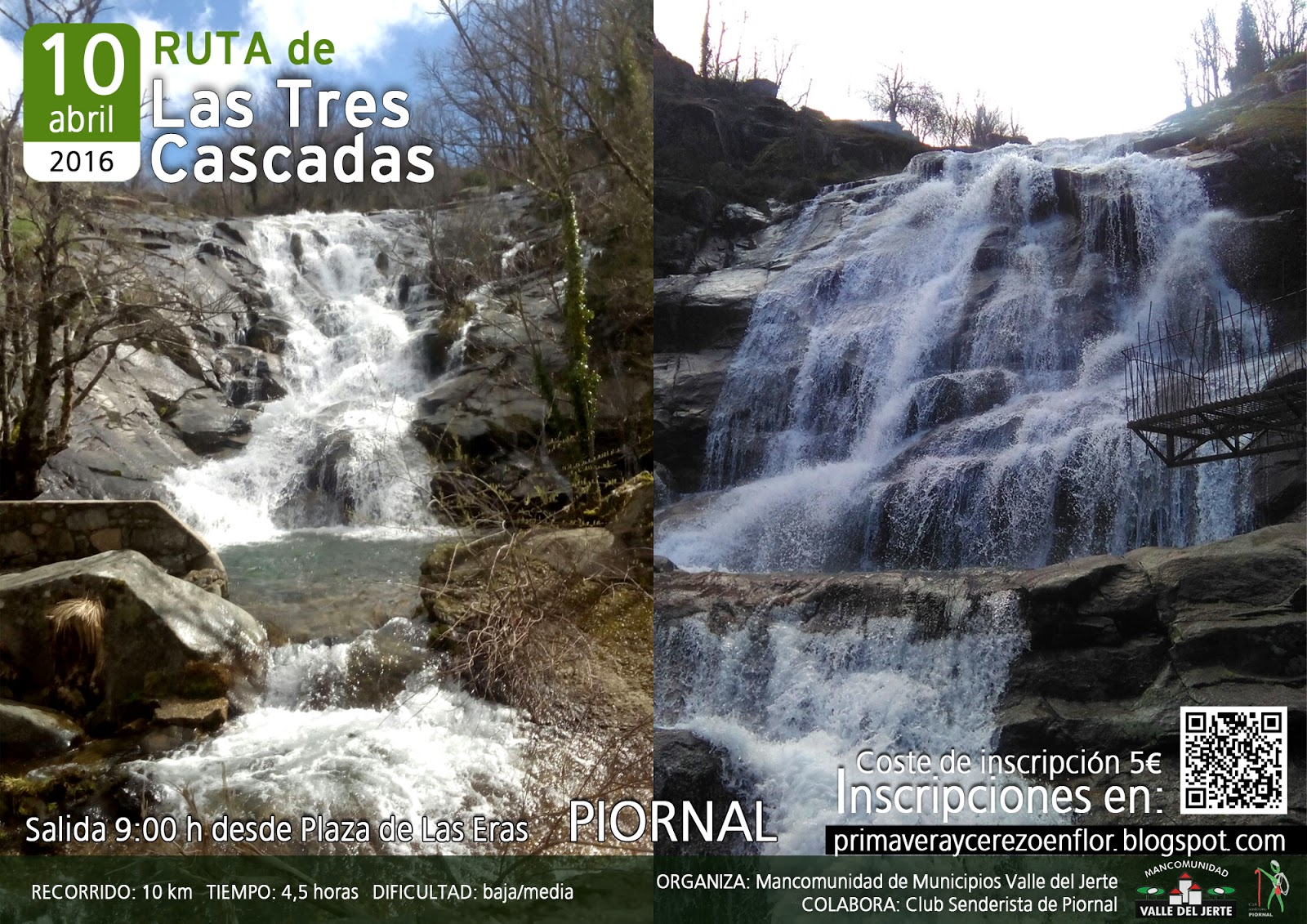 Ruta de las tres cascadas-Valle del Jerte 2016