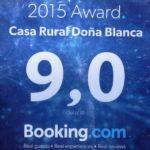 Puntuación de booking
