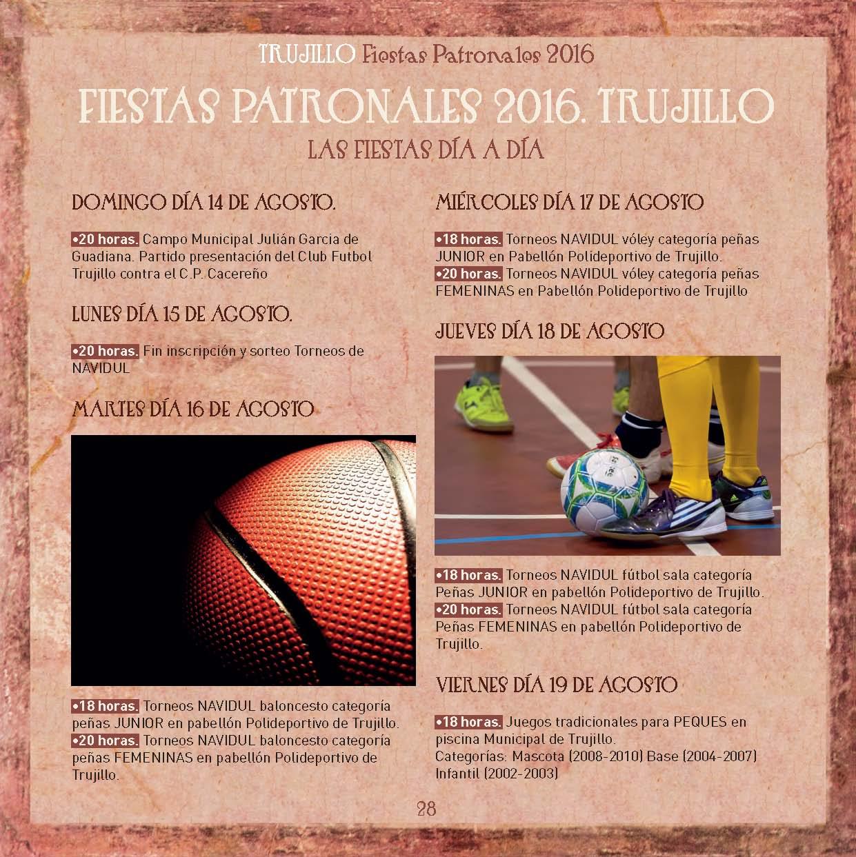 Fiestas Patronales de Trujillo 2016 _1