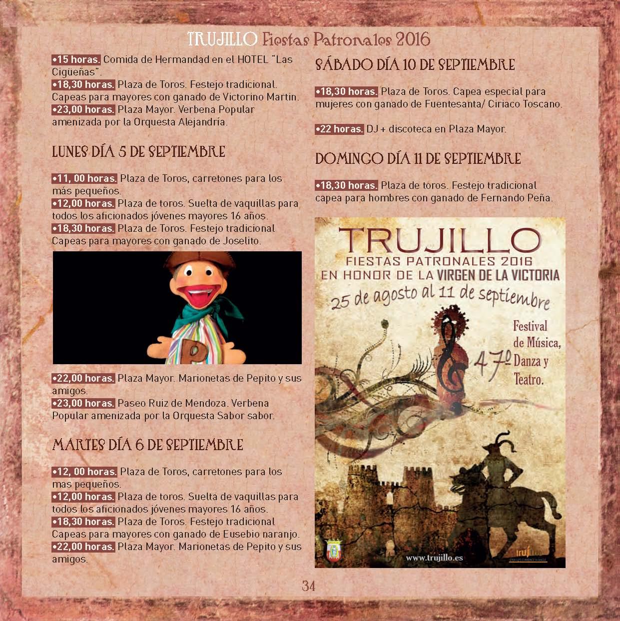 Fiestas Patronales de Trujillo 2016 _7