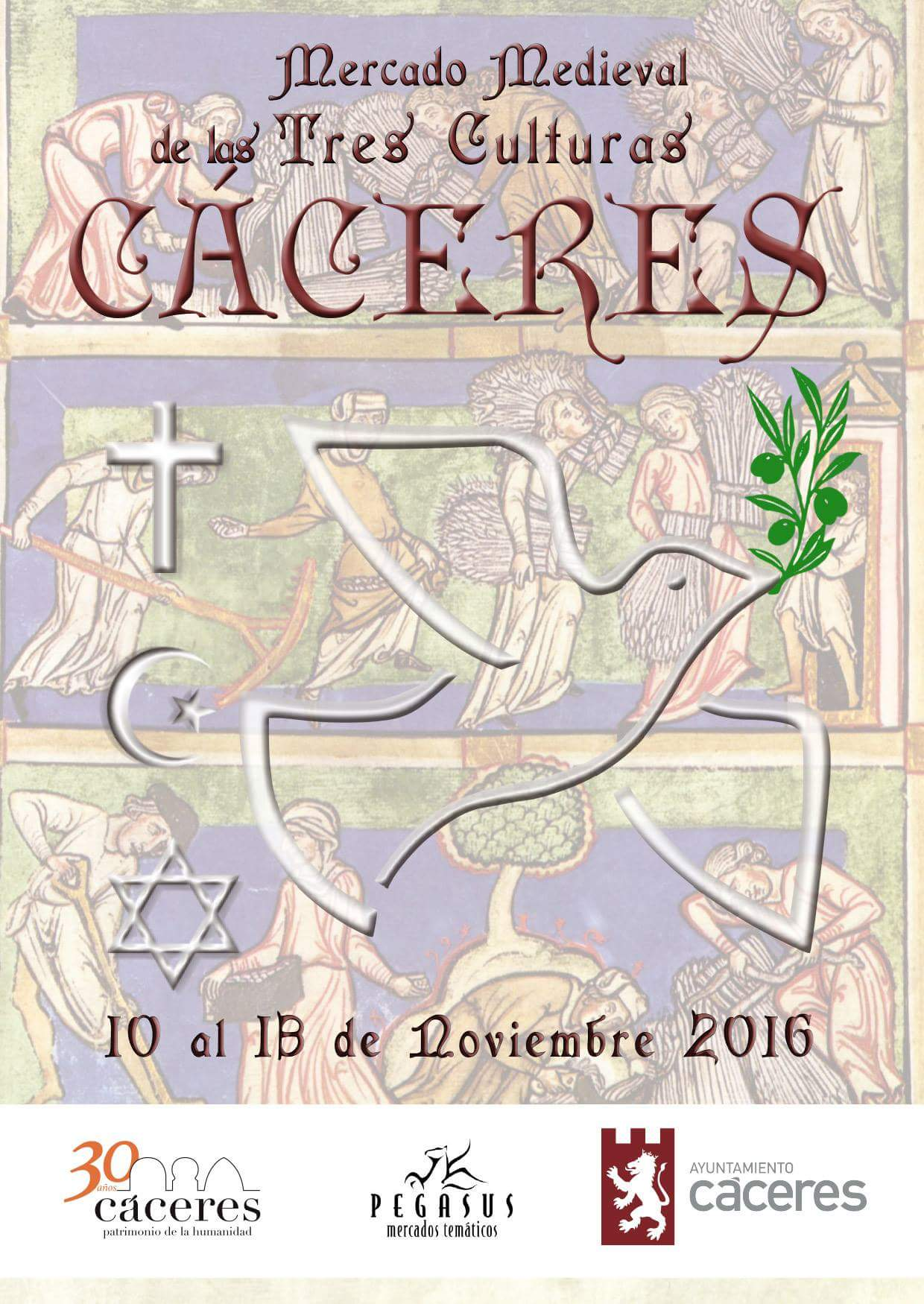 Mercado Medieval 2016 Cáceres