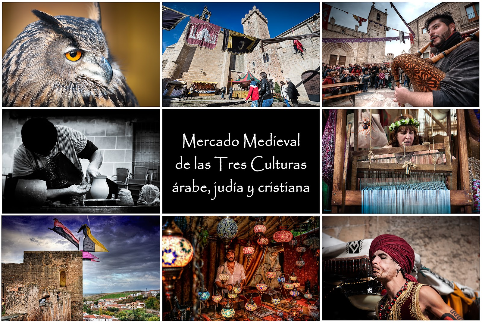 Mercado Medieval Tres Culturas Cáceres